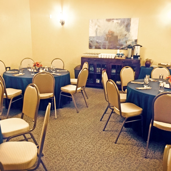 Prescott meeting room at Forest Villas Hotel in Prescott, Arizona