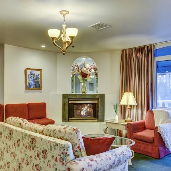 Forest Villas Hotel master suite in Prescott, Arizona