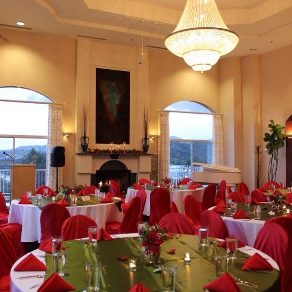 Holiday party at Forest Villas Hotel in Prescott, Arizona