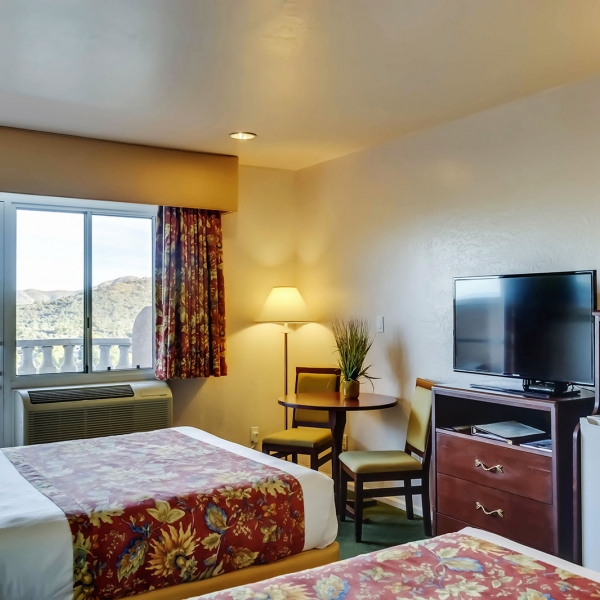 Forest Villas Hotel rooms, Prescott, Arizona