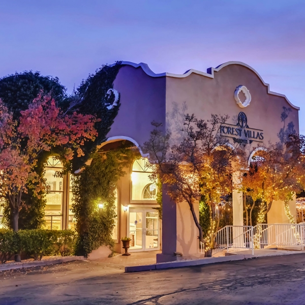 Forest Villas Hotel sunset, Prescott, Arizona