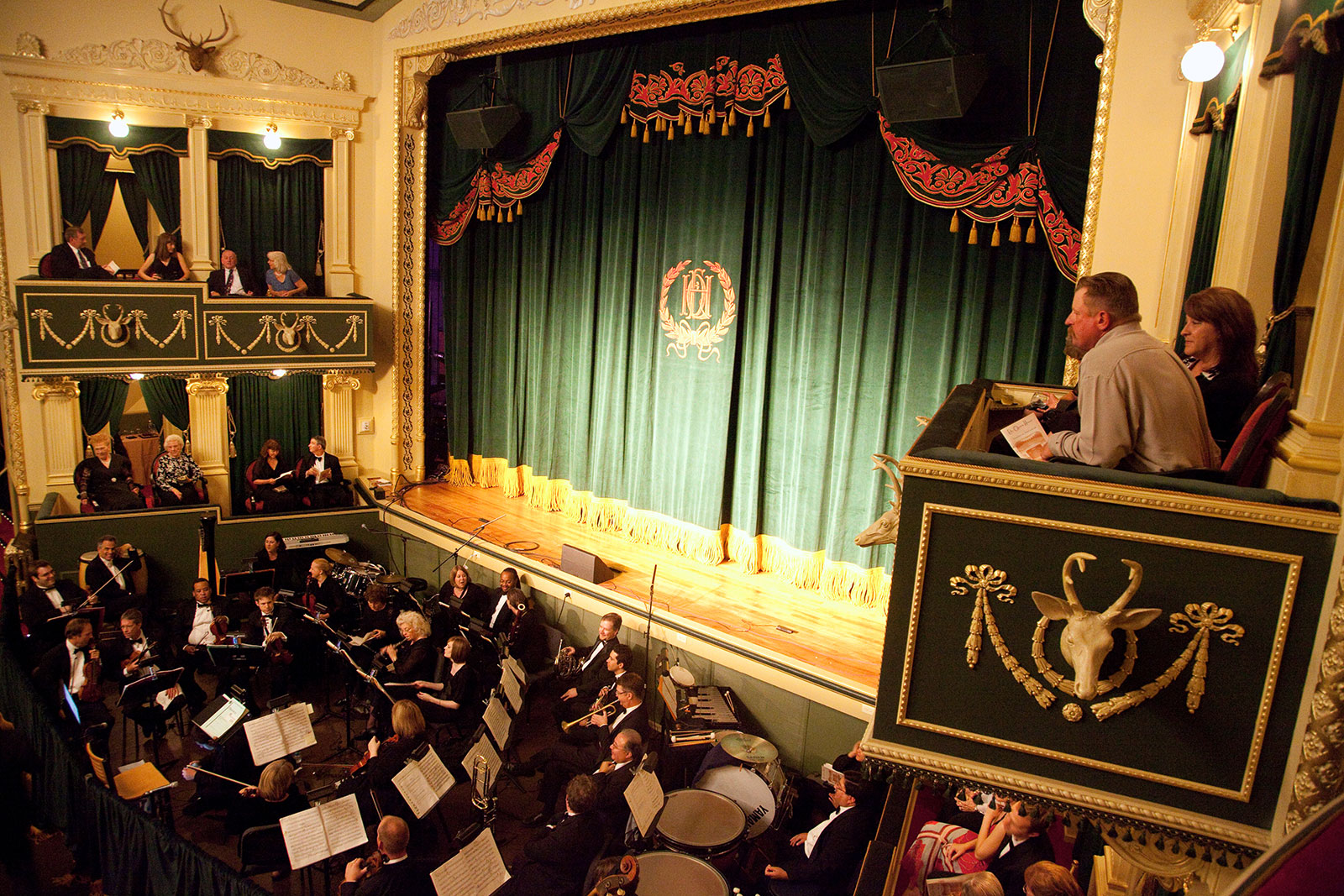 Vist the Elks Opera House in Prescott, Arizona when you stay at Forest Villas Hotel