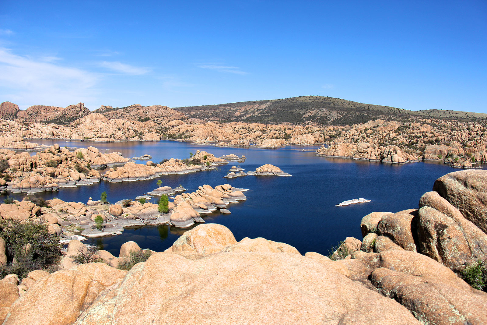 Visit Watson Lake in Prescott, Arizona when you stay at Forest Villas Hotel